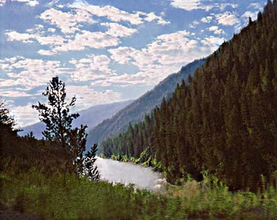 Snake River; Actual size=240 pixels wide